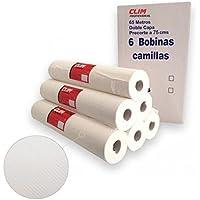 Caja de 6 rollos papel camilla Clim Profesional® extrablanco con doble capa y 65 mts