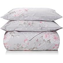 Catherine Lansfield Canterbury - Funda nórdica + funda de almohada para cama de 180 cm