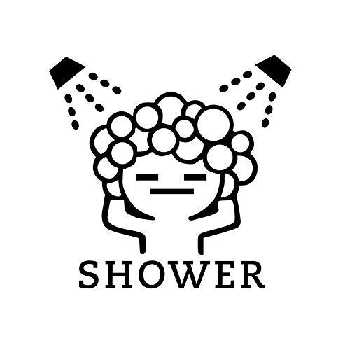 usche Bubble Wand Sticker Für Badezimmer Schiebetür Wasserdicht Glas Dusche Wand Aufkleber Kunst Wandmalerei 1. ()