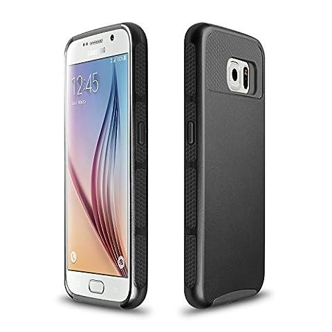 Coque Samsung Galaxy S6 Edge Noir - XINDA Samsung Galaxy S6 Edge Housse étui