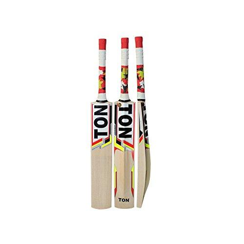 SS T20 Storm Kashmir Willow Cricketschläger mit Tennis/Cricketball und Fledermaus-Gesichtsband, inklusive Schlägerhaube, 2019 Edition, Maximus