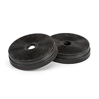 Klarstein Filtro de carbón activado para campanas extractoras Zarah / Zelda / Zola de Klarstein