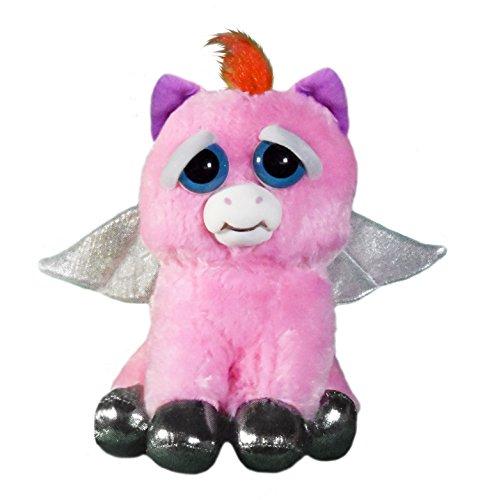 Feisty Pets fp-peg Sparkles Rainbowbarf Pegasus Plush Toy