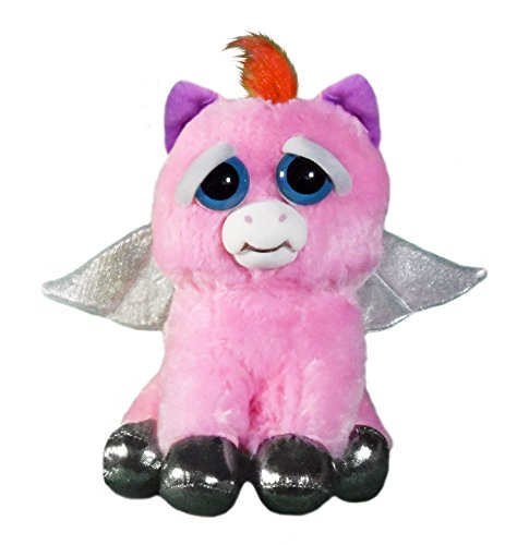 feisty pets einhorn Feisty Pets fp-peg Sparkles rainbowbarf Pegasus Plüsch Spielzeug
