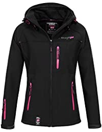 Geographical Norway Damen Softshelljacke Tfila mit Kapuze