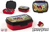 stor bambino di colore, 71727, Sandwichera Angry Birds. panino di plastica Angry Birds. NO BPA.