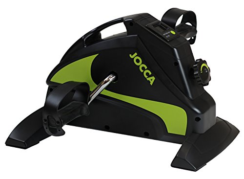 Jocca 6216 - Pedaleador con display, color negro/lima