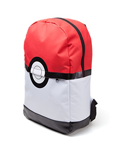 Pokemon-Pokeball-Mochila-roja-blanca