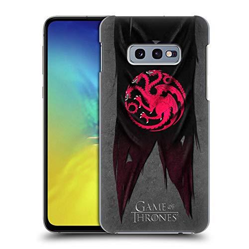 Head Case Designs Offizielle HBO Game of Thrones Targaryen Sigil Flags Harte Rueckseiten Huelle kompatibel mit Samsung Galaxy S10e Flag Case Zubehör