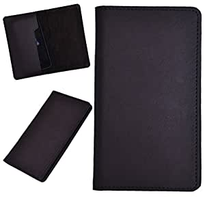 DCR Pu Leather case cover for XOLO Q1000 OPUS (brown)
