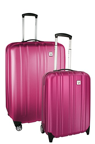 Roncato Trolley Koffer-Set, 70 liters, Violett (Fucsia)