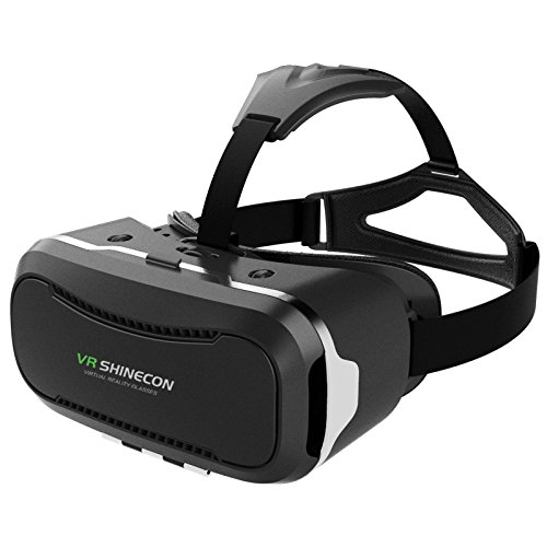 VersionTech VR 3D Virtual Reality Brille Headset Gogglebox für iPhone7 7Plus 6 6s Plus Samsung Andriond Handy 4.0-6.0 Inch