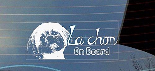 La Chon on Board auto adesivo per finestra-bianco