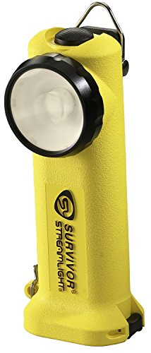 Streamlight 90541 Survivor 6-.75 Inch LED Flashlight - Yellow by Streamlight Survivor-batterie