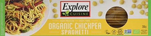 Explore Cuisine Organic Chickpea Spaghetti 250 g (Pack of 3)