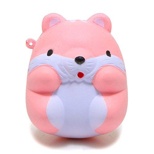 Preisvergleich Produktbild youfan Slow Rising zusammendrückbarer niedlichen Hamster Maus Squishy Slow Rising Sweet duftende Weiche Puppe Spielzeug