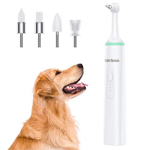 LifeBasis Spazzolino per Cani Spazzolino Denti Cane Pulizia Denti Cane Pulitore per Denti per Cani Pulizia dei Denti Cane Pulitore di Denti per Cani Pulizia dei Denti Cura dei Denti per Cani