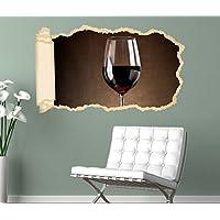 Türaufkleber 200x90cm Türtapete Türsticker Wein und Weintrauben