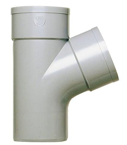 Girpi - Culotte d'évacuation à 67°30 mâle/femelle Ø 125 mm