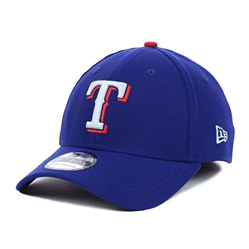 New Era Texas Rangers Stretch Fit Basic MLB Cap Blau S/M