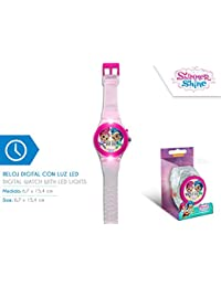 Disney – Reloj Digital Shimmer and Shine con luz led - SH17024