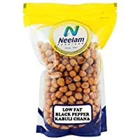 Neelam Foodland Low Fat Black Pepper Kabuli Chana- Chickpeas (800G)