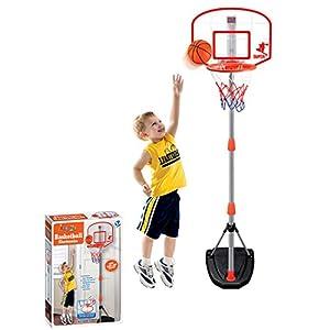 TONGJI 97-170cm Basketballkorb Kinder Einstellbare Basketballständer Mit...