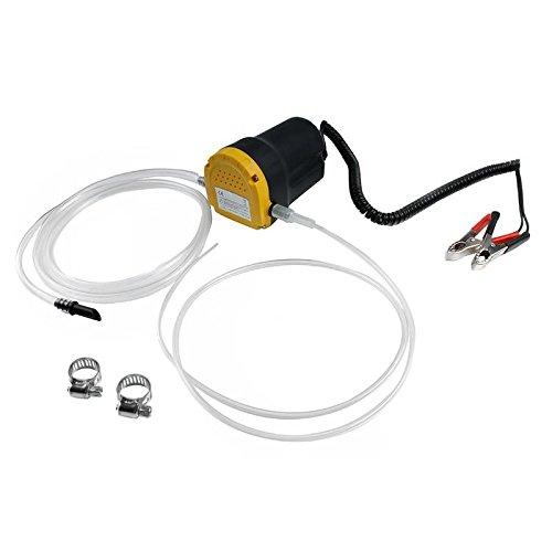 Preisvergleich Produktbild ECD Germany 12V Ölpumpe Ölabsaugpumpe Absaugpumpe Dieselpumpe Heizölpumpe