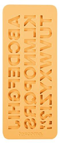 Tescoma 633054 Stampo in Silicone per Pasta di Zucchero, Alfabeto