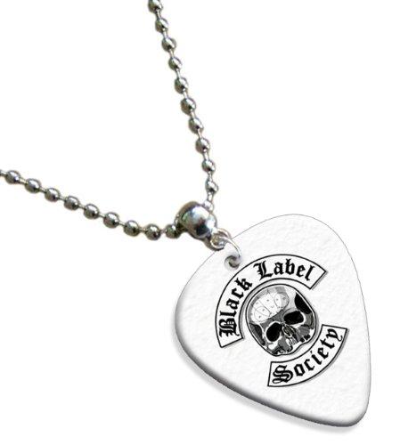 Black Label Society ( Classic Logo Range) Premium Chitarra Pick Plettri Collana Necklace