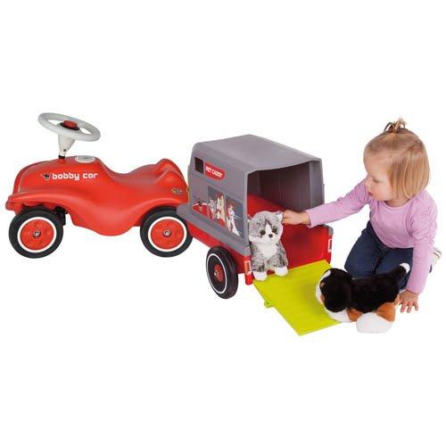 BIG Bobby Car New + Car Pet Caddy Pferde Anhänger - Kinderrutscher