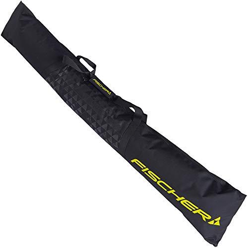 FISCHER SKICASE ECO ALPINE 2020 Skitasche Skisack mit RV für ein Paar Ski Z10619(BLACK)