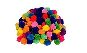 Vardhman Wool Balls (Multicolor, 28 mm)-Pack of 230