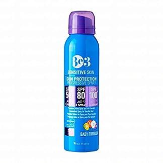 Be3 Solar Piel sensible. Protección progresiva SPF 50/80*/100*. Fórmula para niños 90 ml.