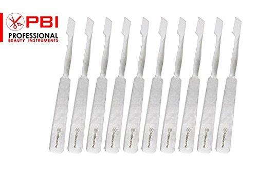 bisturi coltello - coltello per hobby - coltello per arte e artigianato - coltello a lama fissa - 10,5 cm - Set di 10 pezzi - acciaio inossidabile da PBI