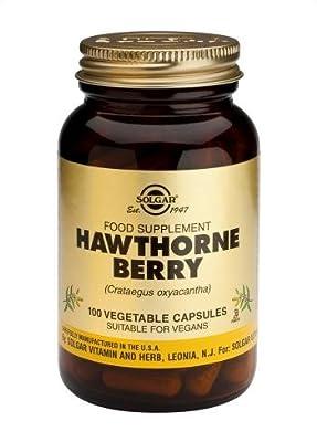 Solgar Hawthorne Berry Vegetable Capsules, 100 from Solgar