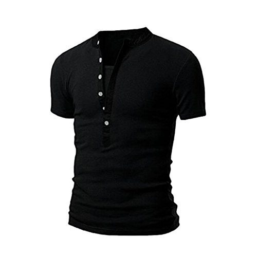 Amlaiworld Heiße Slim Fit Casual T-Shirts T-Shirt Tops für Mann, 2017 Kurzarm...