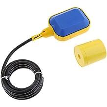 MagiDeal Interruptor de Flotador Controlador de Nivel de Agua 6.6 ft Cable Aparato de Sensor Conmutador