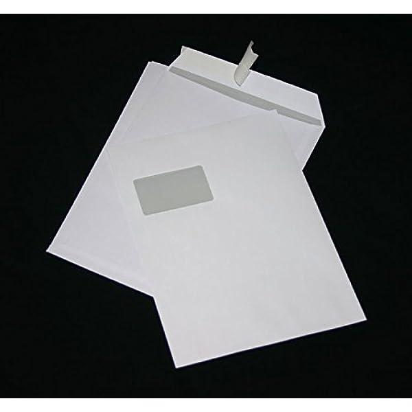 25//50//100//250 Briefumschläge Umschlag rot DIN C4 229x324mm haftklebend 406A