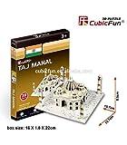 TrAdE shop Traesio® CubicFun Mini 3D Paper Puzzle Taj Mahal 39Stück Stück