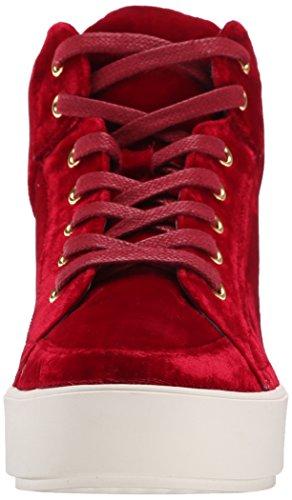 Nine West Verona Fabric Fashion Sneaker Red