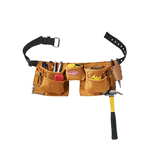 Bucket Boss 5514911Taschen Wildleder Leder Carpenter Schürze - Tasche Wildleder Leder Nagel