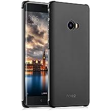 OFU® Funda de TPU silicona para Xiaomi Mi Note 2 Funda,De TPU blando de alta calidad-negro