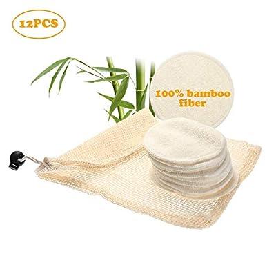 Almohadillas Desmaquilladoras Reutilizables Bambú