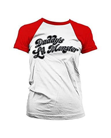 Harley Costume Quinn Shirt - Harley Quinn Suicide Squad T-shirt manches