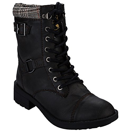 Womens Rocket Dog Womens Thunder Boots in Black - UK 6
