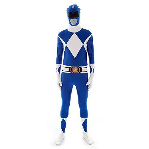 Imagen de morphsuits  disfraz para adulto con diseño azul power ranger, talla xl mlprblx  alternativa