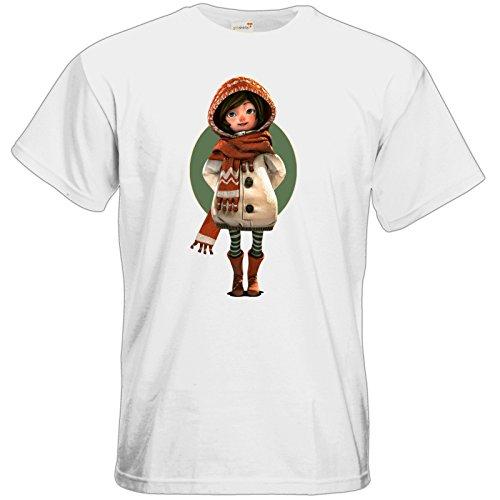 getshirts - Daedalic Official Merchandise - T-Shirt - Silence - Renie 2 White