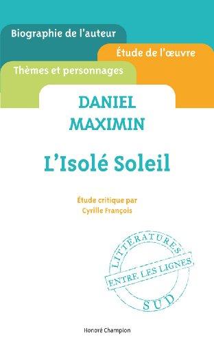 Daniel Maximin - L'isol soleil