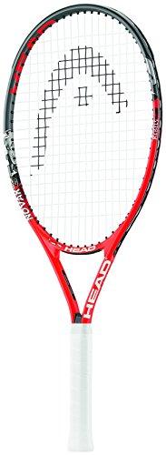 HEAD Kinder Novak Tennisschläger, Rot/Schwarz, 25-Inch (8-10 Years) (Tennisschläger Head)